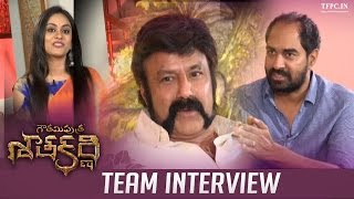 Bala Krishna and Krish Interview About Gautamiputra Satakarni | TFPC - TFPC
