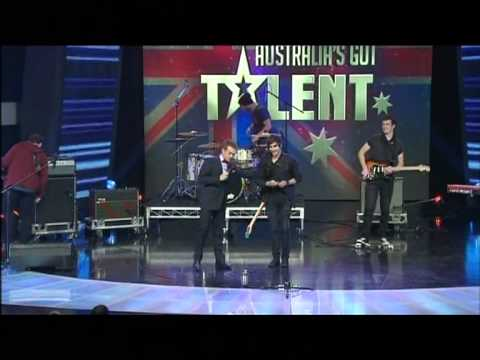 Beside lights - Afraid To Fall - Semi Final 2 Australia's Got Talent 2012 [FULL]