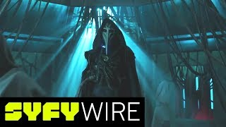 12 Monkeys Cast Preview Finale and What's to Come | San Diego Comic-Con 2017 | SYFY WIRE - SYFY