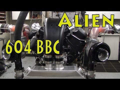 New High Torque at Low Revs 604Ci(9.8L) TT BBC.  From Tom Nelson.  NRE TV Episode 213.
