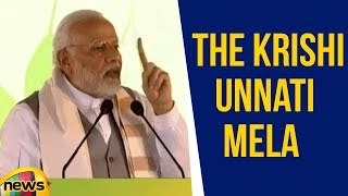 Pm Modi Addresses The Krishi Unnati Mela In Delhi | Mango News - MANGONEWS