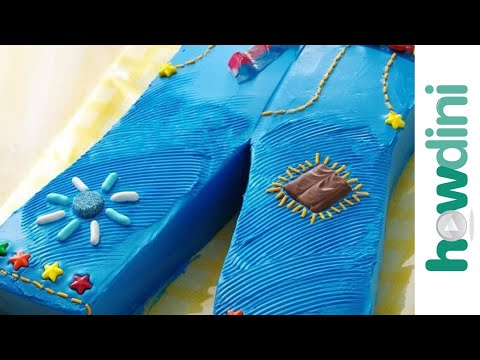 birthday cake decorating designs. Blue jeans irthday cake