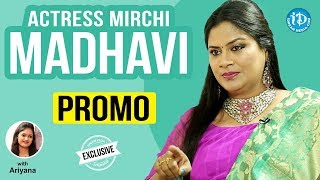 Actress Mirchi Madhavi Exclusive Interview - Promo || Talking Movies With iDream - IDREAMMOVIES