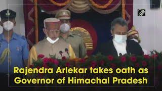 video : Rajendra Arlekar ने Himachal Pradesh के Governor के रूप में ली शपथ