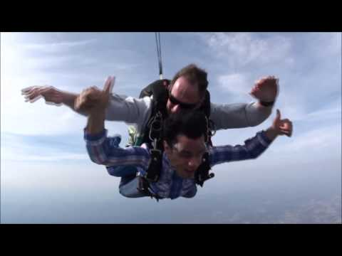 My first Tandem skydive . Sussex skydiving