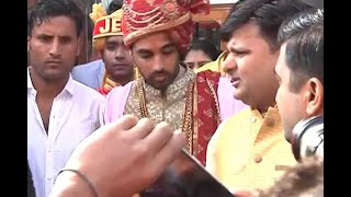EXCLUSIVE PICTURES of Cricketer Bhuvneshwar Kumar getting married - ABPNEWSTV