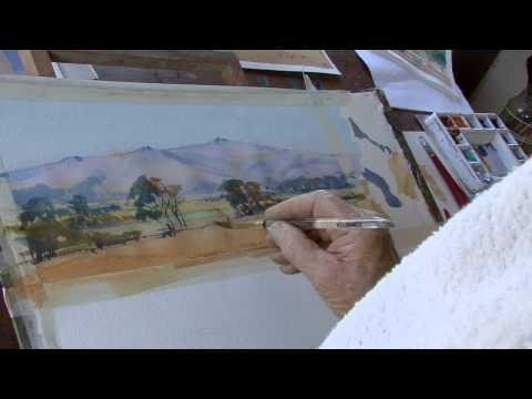 APV Films Masterclass - Studio Watercolours with David Taylor