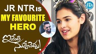 Jr NTR Is My Favourite Hero - Prasanna || Inkenti Nuvve Cheppu Team Interview || Talking Movies - IDREAMMOVIES