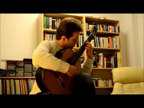 William Walton - Bagatelle Nr. 3 - Alla Cubana for Guitar, by Sanel Redzic