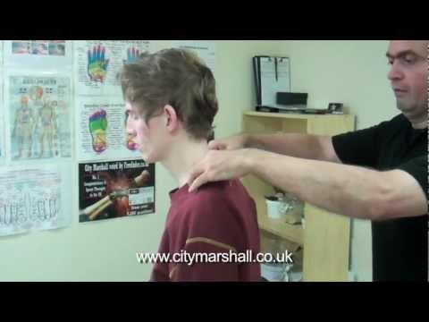 sports massage cardiff - neck & shoulder
