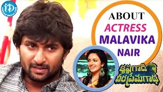Nani About Actress Malavika Nair || Krishna Gaadi Veera Prema Gaadha || Talking Movies With iDream - IDREAMMOVIES