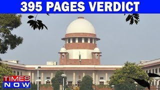 395 Pages Of The Supreme Court Verdict On Triple Talaq | Document Revealed - TIMESNOWONLINE
