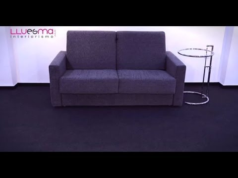 Sofá cama apertura Italiana. Es Interiorismo