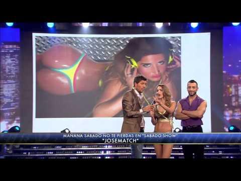 Showmatch 2012 - María Vázquez analizó las colas del Bailando