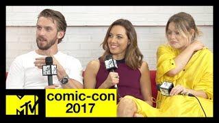 'Legion' Cast:  Dan Stevens, Aubrey Plaza & Rachel Keller Talk Season 2 | Comic-Con 2017 | MTV - MTV