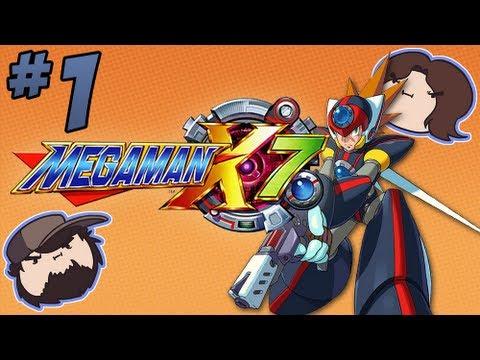 Mega Man X7: Axl From a Rose - PART 1 - Game Grumps
