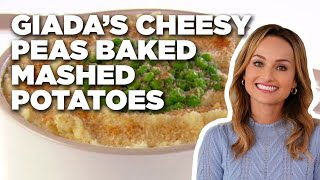 Giada's Cheesy Peas Baked Mashed Potatoes | Food Network - FOODNETWORKTV