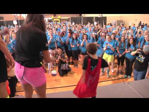 Mizzou Dance Marathon 2013-Joshua Patterson Dancing-Unedited RAW Footage