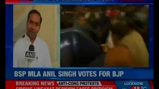 BJP likely to clinch the 9th seat in UP; RS polling complete for 10 UP seats - NEWSXLIVE