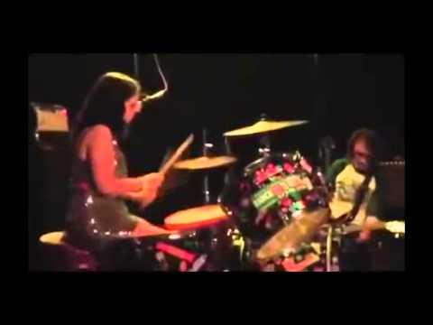 HOT HANDS  amazing female drummer  LIVE ROCK!