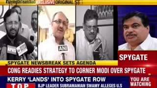 Congress readies strategy to corner Narendra Modi over spygate - NEWSXLIVE