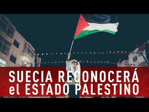 Suecia reconoce oficialmente el Estado de Palestina