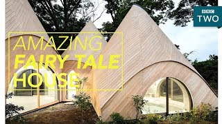 Incredible Japanese fantasy tent-house - World's Most Extraordinary Homes - BBC Two - BBC