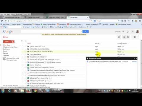 Menyimpan file di google drive by pak Sukani