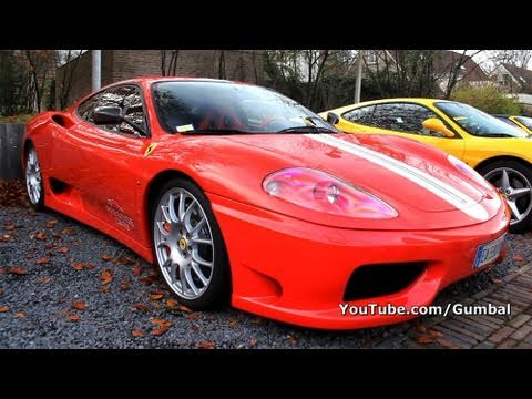Ferrari 360 Challenge Stradale - Rev, Fly by, Accelerating!! 1080p HD