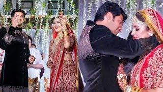 Arya Sayesha Marriage Celebration Unseen Images | Arya Wedding Wedding Photos - RAJSHRITELUGU