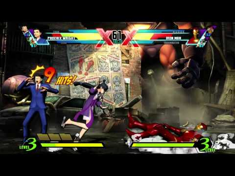 Ultimate Marvel vs. Capcom 3: Phoenix Wright -cqQfkxZNwRQ