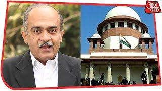 SC ने Prashant Bhushan से कहा, कोर्ट में उतना ही बोलें जितना ज़रूरी हो | Rafale Hearing Live - AAJTAKTV