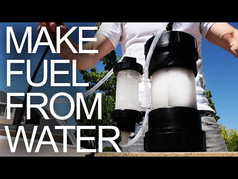 Water To Fuel Converter - (Explosive Gas by Electrolysis)