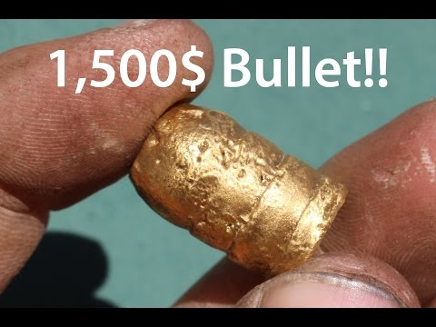 Making and Shooting a $1500 Gold Bullet