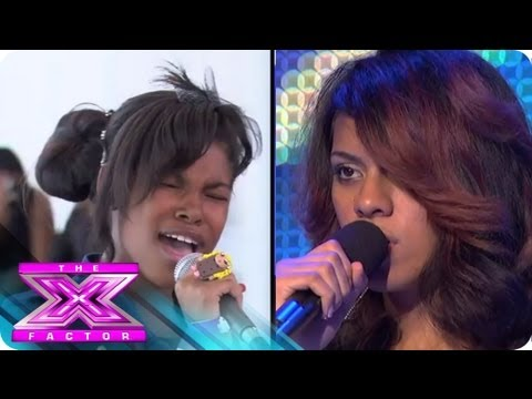 Boot Camp 2: Diamond White vs. Dinah Jane Hansen - THE X FACTOR USA