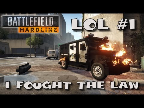 Battlefield Hardline LOL #1 - I Fought the Law (and kicked its ass)