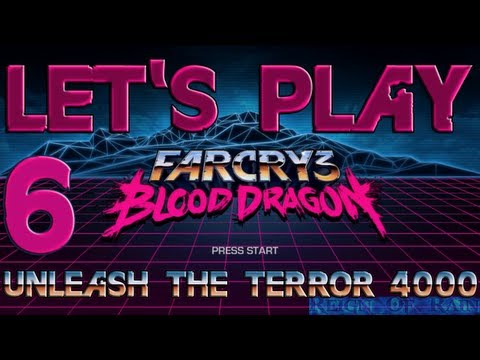 Far Cry 3 Blood Dragon Walkthrough w/ Commentary - Unleash the Terror 4000 - P.6