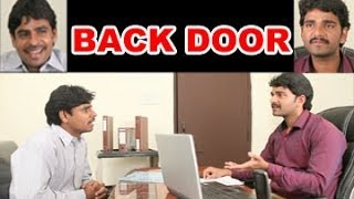BACK DOOR ||  Key in the cash || Telugu Comedy Short Film By A.V.BHASKAR - YOUTUBE