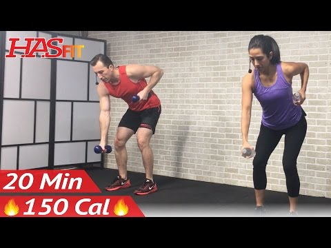 20 Minute Low Impact Cardio Workout for Beginners - Beginner Workout Routine at Home for Women Men