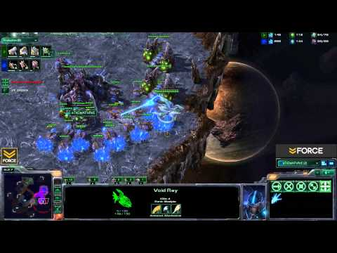 StarCraft 2 - [Z] Dealing With Early Void Rays: Evolution Chamber Timing - Strategy