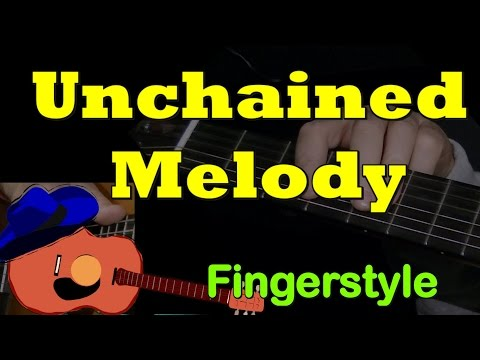 Unchained Melody (Ghost): fingerstyle + TAB! Guitar lesson, learn how to play