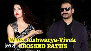 When Ex-lovers Aishwarya Rai & Vivek Oberoi CROSSED PATHS - IANSLIVE