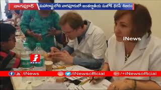 Nitin Gadkari Visits Sujok Therapy Medical Camp in Nagpur | iNews - INEWS