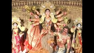 Watch: Mumbai celebrating Durga Puja, exhibiting art and culture - TIMESOFINDIACHANNEL