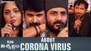 Nishabdham team about Corona Virus - idlebrain.com - IDLEBRAINLIVE
