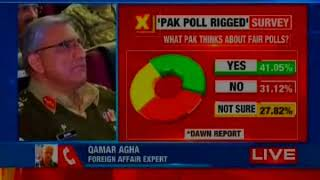 Dawn survey exposes Pakistan polls, shows 54% believe polls not fair and free - NEWSXLIVE