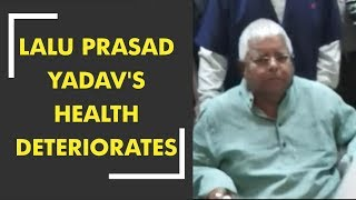 RJD chief Lalu Prasad Yadav's health deteriorates, rushed to IGIMS - ZEENEWS