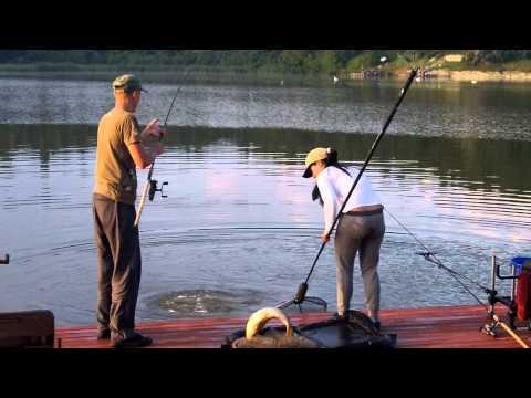 ловля рыбы на банки видео