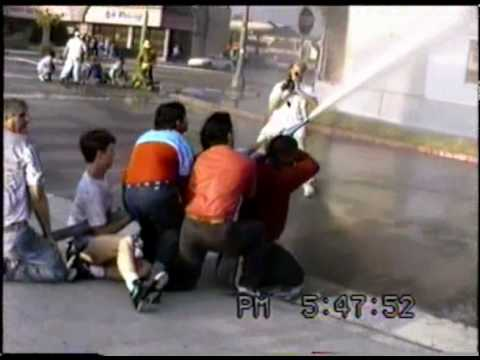 Samy's Camera fire during the 1992 Los Angeles Riots