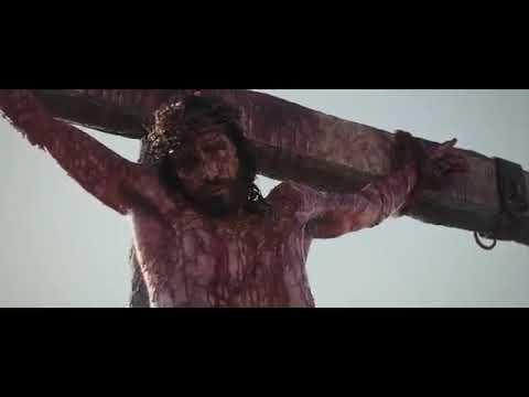 O ladrão na cruz ( filme Paixão de Cristo)